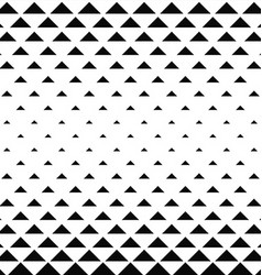 Abstract monochrome triangle pattern background vector