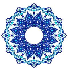 Artistic ottoman pattern series ninety vector