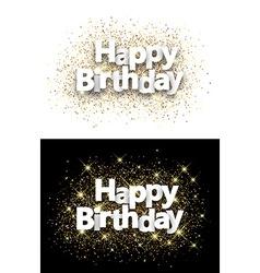 Happy birthday backgrounds vector
