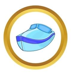 Powerboat icon vector