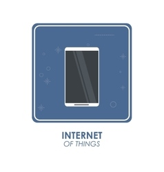 Smartphone icon internet of things design vector