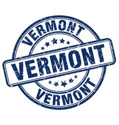 Vermont stamp vector