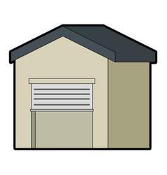 warehouse icon vector image
