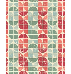 Colorful tattered textile geometric seamless vector