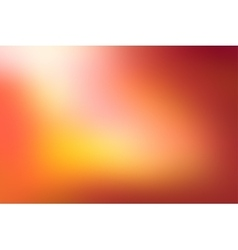 Orange blurred background vector image