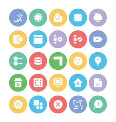 Design and development icons 8 vector