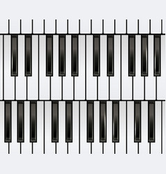 Piano keyboard seamless vector