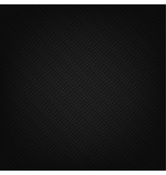 Clean black leather texture pattern vector