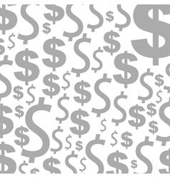 Dollar a background vector image