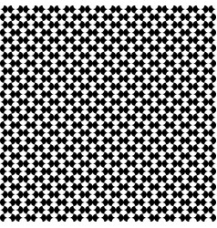 dominoes geometric seamless pattern vector image vector image