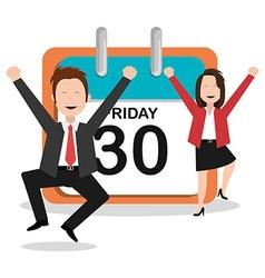 Friday design vector