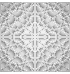Islamic seamless pattern with stars vector image