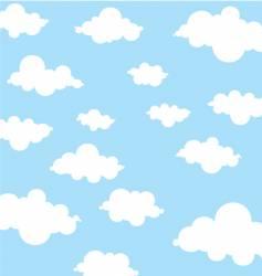 sky seamless vector image vector image