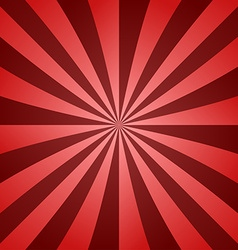 Dark red ray background vector