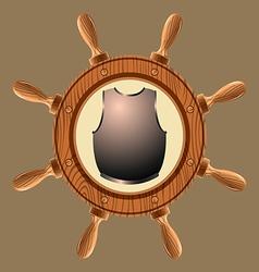 icon pirate cuirass vector image