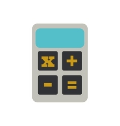 Calculator finance objetc office vector