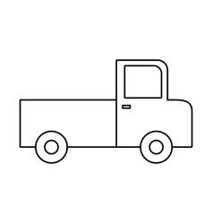 Cargo truck icon image vector