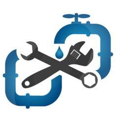 Symbol plumbing and repair vector