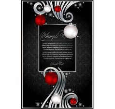 xmas background for design vector image