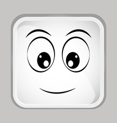 Emoticon face vector