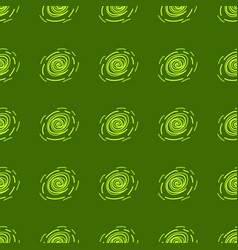 Green and yellow abstract pattern vector