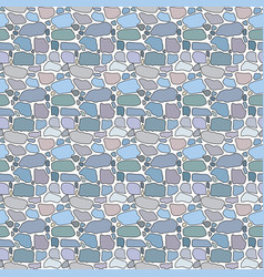 pattern of pebbles vector image