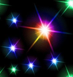 Sparkling background vector image