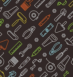 Different industrial equipment tools color vector image