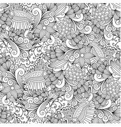 Floral vintage ornamental background vector
