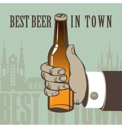 best Beer vector image vector image