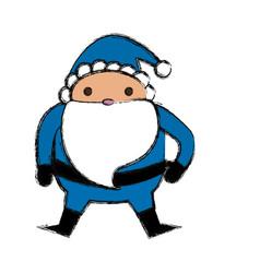 cute santa claus cartoon vector image