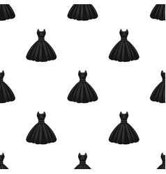 white fluffy wedding dress for a girl wedding vector image vector image
