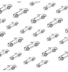 Convertible sport car vector