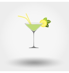 Martini cocktail vector image