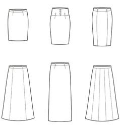 Skirt vector