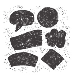 Hand drawn dirty texture vector