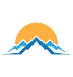 Mountains Logo vector image vector image