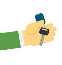 rent or sale car dealer service conceptual icon vector image vector image