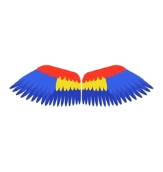 Wings isolated vector