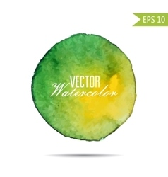 Watercolor-style spot vector