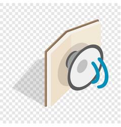 audiobook isometric icon vector image
