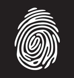 Finger print light vector