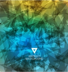 Abstract modern colorful background vector