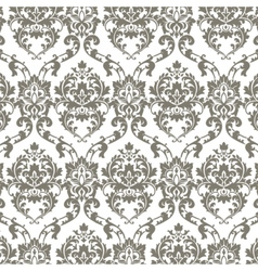 Classic luxury damask pattern vector