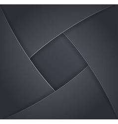 Design elements of dark metal vector image