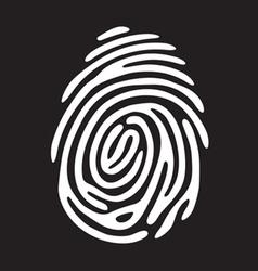 Finger print light vector