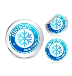Keep frozen label vector