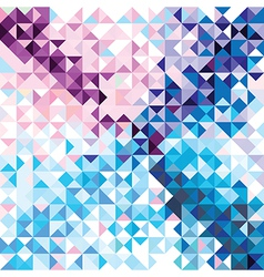 Retro seamless pattern of geometric shapes vector