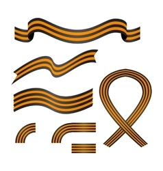 Ribbon of saint george vector
