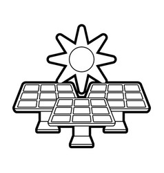Solar energy innovation vector